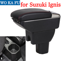 for suzuki Ignis armrest box universal car center console caja  modification accessories double raised with USB|Armrests| |  -
