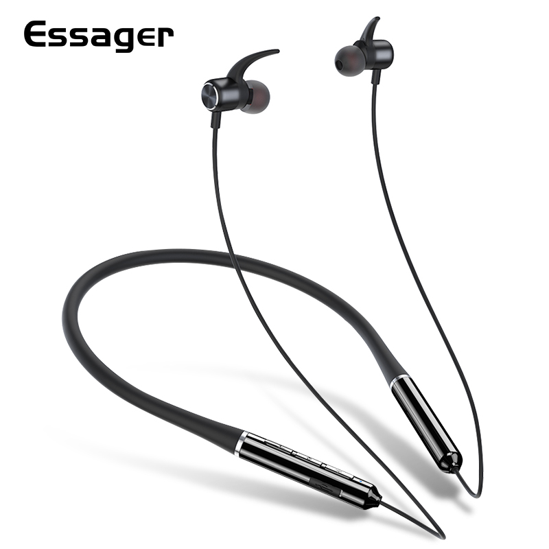 Essager X50-auriculares, inalámbricos por Bluetooth 5,0, auriculares internos deportivos manos libres con micrófono para Xiaomi KERUI-Detector de GAS GLP GD13, inalámbrico, Digital, pantalla LED, Detector de fugas naturales de Gas Combustible para sistema de alarma de casa