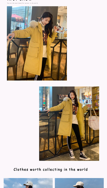-30 Degrees Winter Women Long Parkas Jackets Plus Size M-5XL Thick Warm Big Fur Collar Female Slim Sintepon Parkas Outwear Coat 17