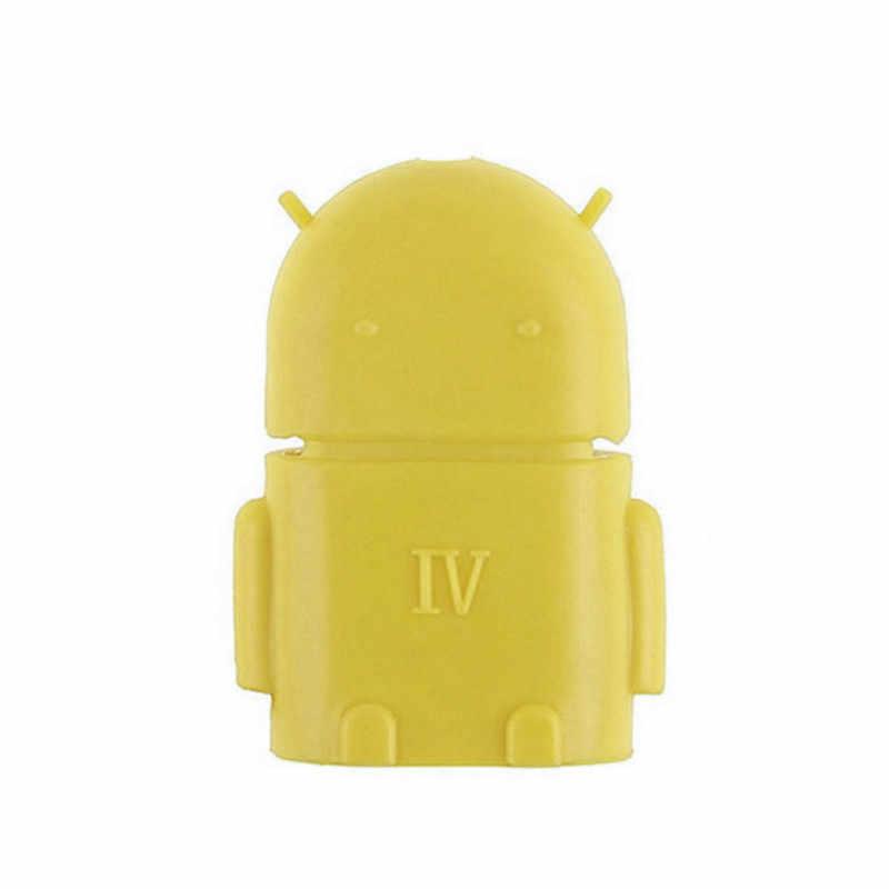 OTG mikro USB adaptörü dönüştürücüler Android OTG dönüşüm kafası USB Tablet mobil telefon dönüştürücü U Disk bağlantı kart okuyucu