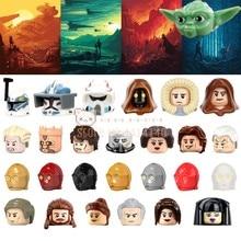 Фигурки героев Leia Star W Master Y Stormtroopers, кубики MOC, строительные блоки, детские игрушки для детей, подарки