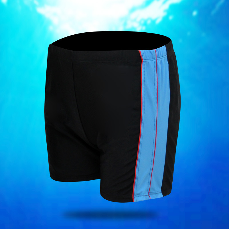2019 New Style MEN'S Swimming Trunks Chinlon Plus-sized 5XL Plus-sized Thick AussieBum Black And White With Pattern