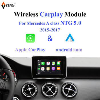 Iying Wireless Carplay for Mercedes A Class NTG5 W176 W177 2015-2018 Android Auto Mirroring Module Car play Interface for Benz image