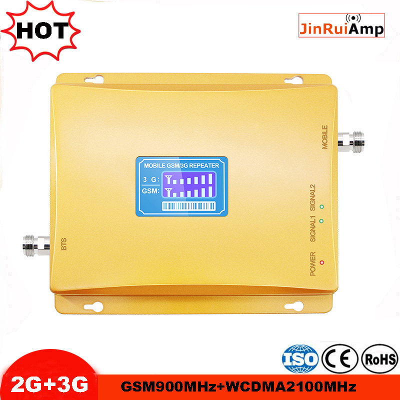 Cellular Signal Booster GSM Repeater 900 3G UMTS 2100 Dual Band Cellphone Amplifier 2g 3g 900/2100Mhz