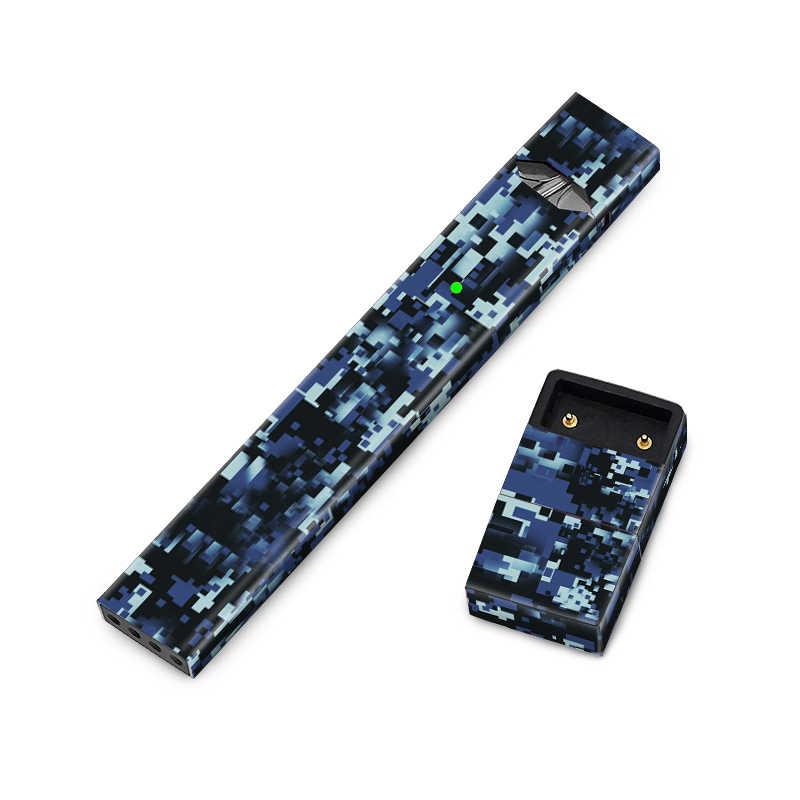 Accessoires de cigarettes électroniques Camouflage 3M autocollants en vinyle pour JUUL skins couverture complète e-cigs chargeur boîtier décalcomanies