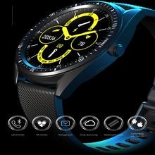 KW33 חכם שעון גברים IP68 עמיד למים 460mAh ארוך המתנה גשש כושר קצב לב צג לחץ דם ספורט Smartwatch