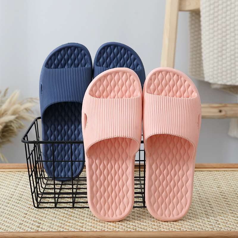 2019  Simple And Comfortable Flat Indoor Non-Slip Slippers