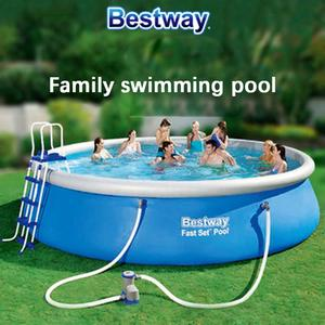 Inflatable Pool Swimming-Pool-Adult Water-Play Outdoor Family Piscine Child Summer 8-Feet