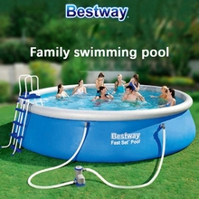8 feet outdoor child summer swimming pool adult inflatable pool 244*66 giant family garden water play pool kids piscine