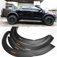 EXTRA EXTERIOR AUTO PARTS FENDER FLARE RUNNING BOARD SIDE BAR FIT FOR RANGER T7 T8 XLT PEDALS 4DOOR PICKUP CAR ACCESSORIES 2015+