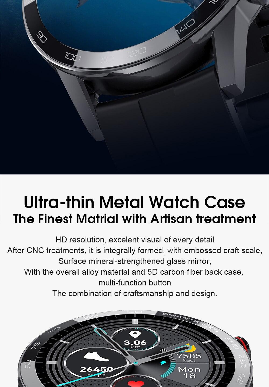 2020 nova l16 relógio inteligente para homem