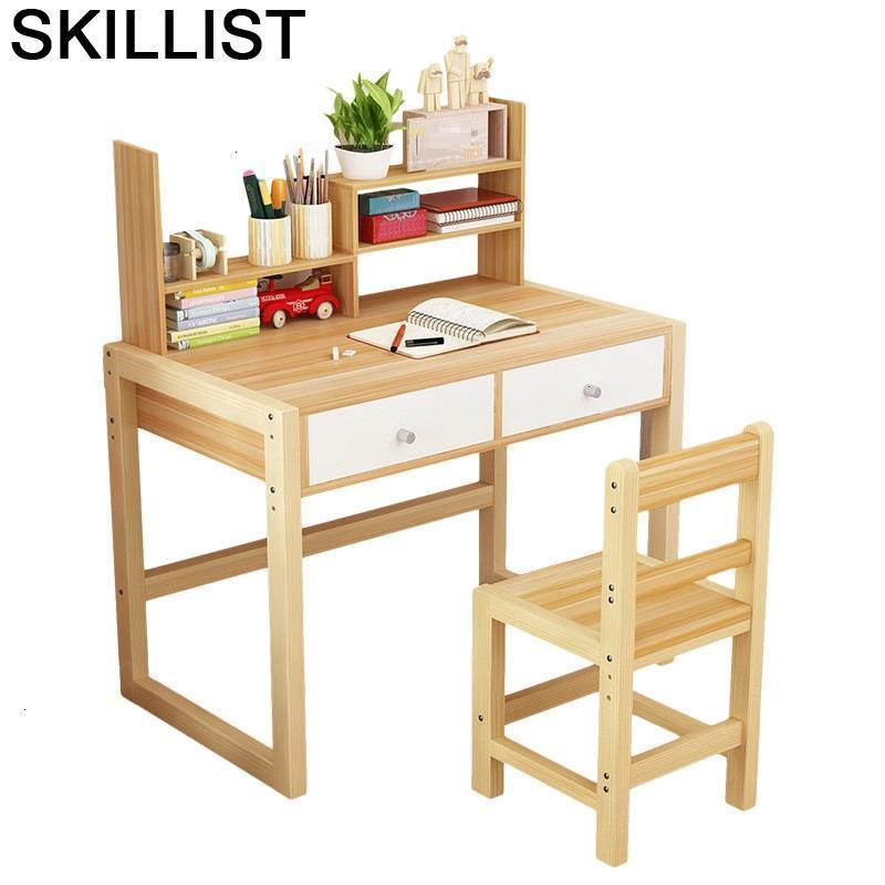 Pour Mesa De Estudio And Chair Escritorio Infantil Baby Child Children Adjustable Kinder Bureau For Enfant Study Kids Table