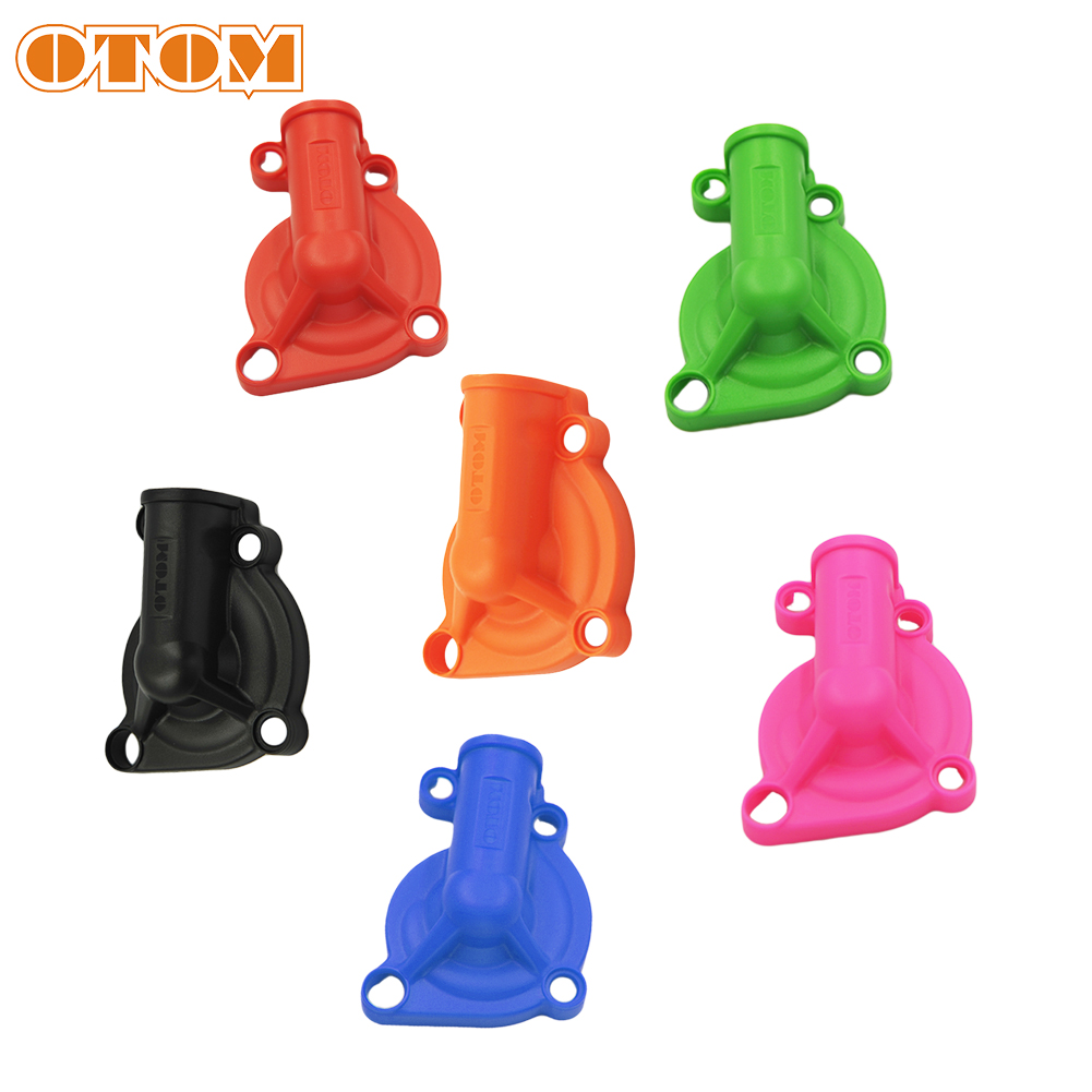 OTOM Motorcycle Plastic Water Pump Protector For NC250 250cc KAYO T6 K6 BSE J5 RX3 ZS250GY-3 4 Valves Parts Water Pump Cover image