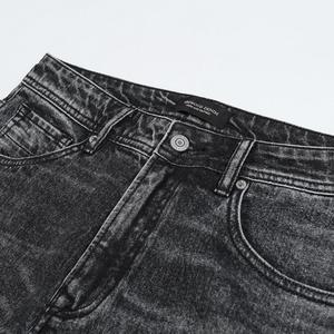 Image 4 - Simwood 2020 新ジーンズ男性古典的なジーンズ高品質ストレート脚男性カジュアルパンツプラスサイズのズボン 180348