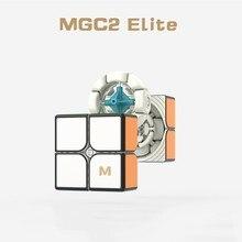 MGC 2X2 Elite manyetik küp MGC 2x2x2 profesyonel sihirli küp YJ 2x2x2 hız küp bulmaca oyunu küp oyuncaklar