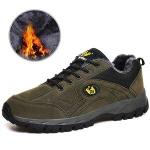 Image 4 - Grote Maat 36 49 Herfst Winter Mannen Vrouwen Outdoor Sport Casual Schoenen Wandelschoenen Comfortabele Sneakers Paar Wandelen Schoeisel