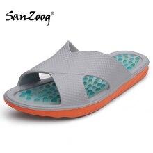 Sanzoog pantoufles De Massage des pieds dintérieur pour homme, chaussures De salle De bain pour la maison, 49s