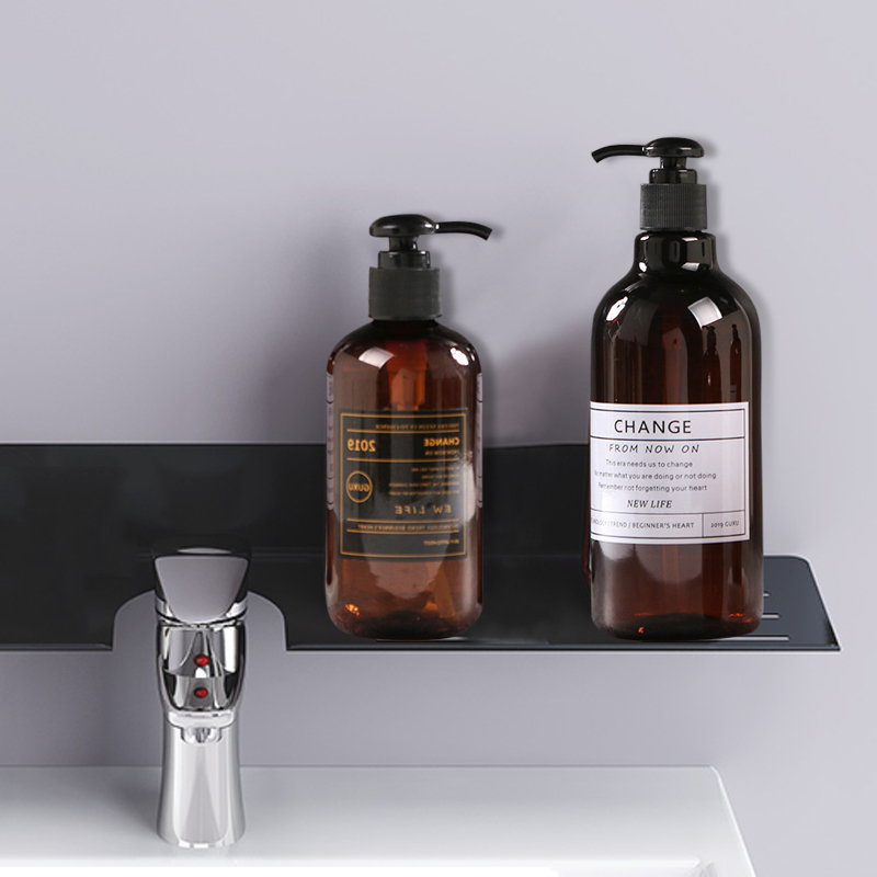 Bathroom Products Shampoo Press Bottle Liquid Shower Gel Refillable Portable Soap Dispensers Simple Nordic Style
