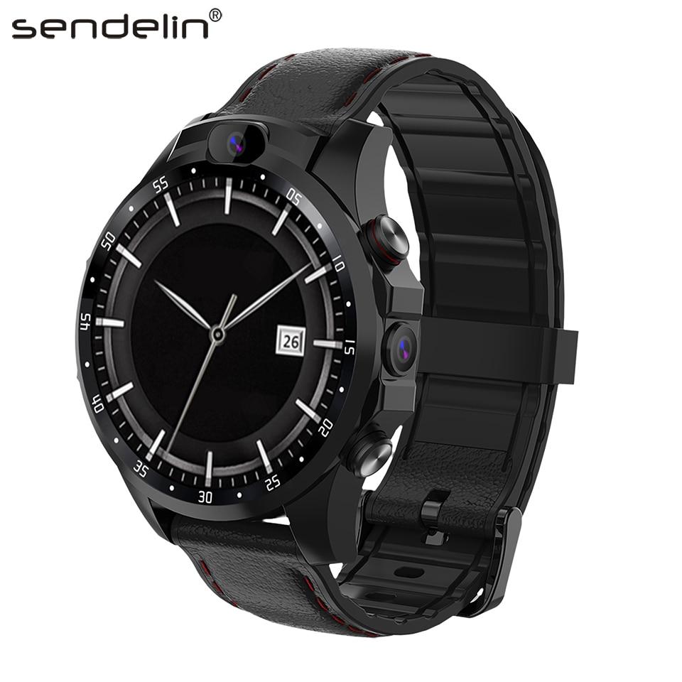 Smartwatch men 4G call wear watch SIM card GPS HD camera Android smart watch for Huawei xiaomi phone PK gt amazfit bip Stratos
