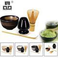 TANGPIN 4 teile/satz traditionellen matcha geschenkset bambus matcha schneebesen scoop ceremic Matcha Schüssel Schneebesen Halter japanischen tee-sets