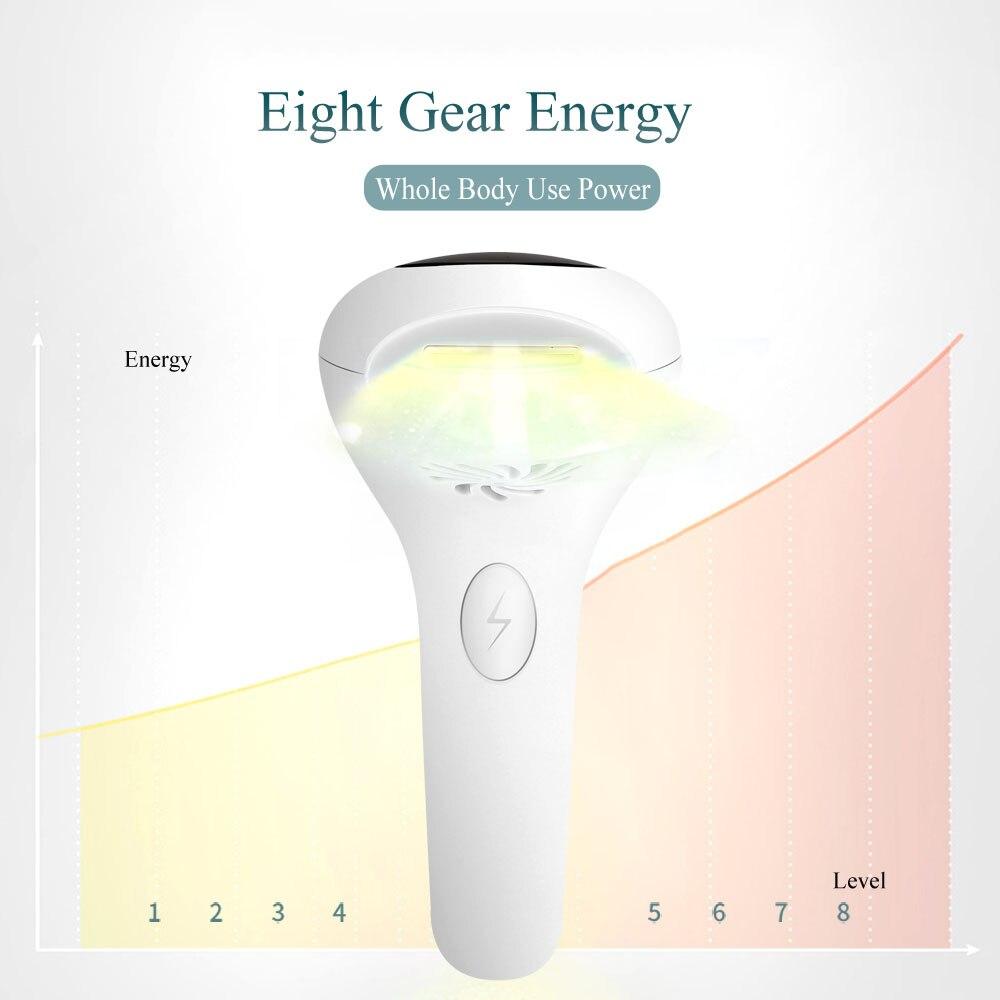 laser feminino luz pulsada eletrica dispositivo depilatorio para corpo facial biquini 05