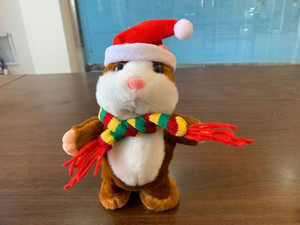 Image 5 - Promotion 15cm Talking Hamster Speak Talk Sound Record Repeat Stuffed Plush Animal Kawaii Hamster Toy For Children Kid Xmas Gift