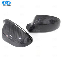 A4 A5 side Mirror Cover For Audi S5 Q3 B8 A6 S3 Carbon Fiber Rearview Mirror Case With& Without Lane Assist 2008 2009 2010 2015