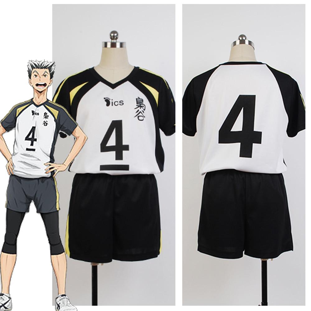 hot anime haikyuu cosplay fukurodani akademie volleyball uniform bokuto koutarou akaashi keiji haikyu jersey cosplay kostum