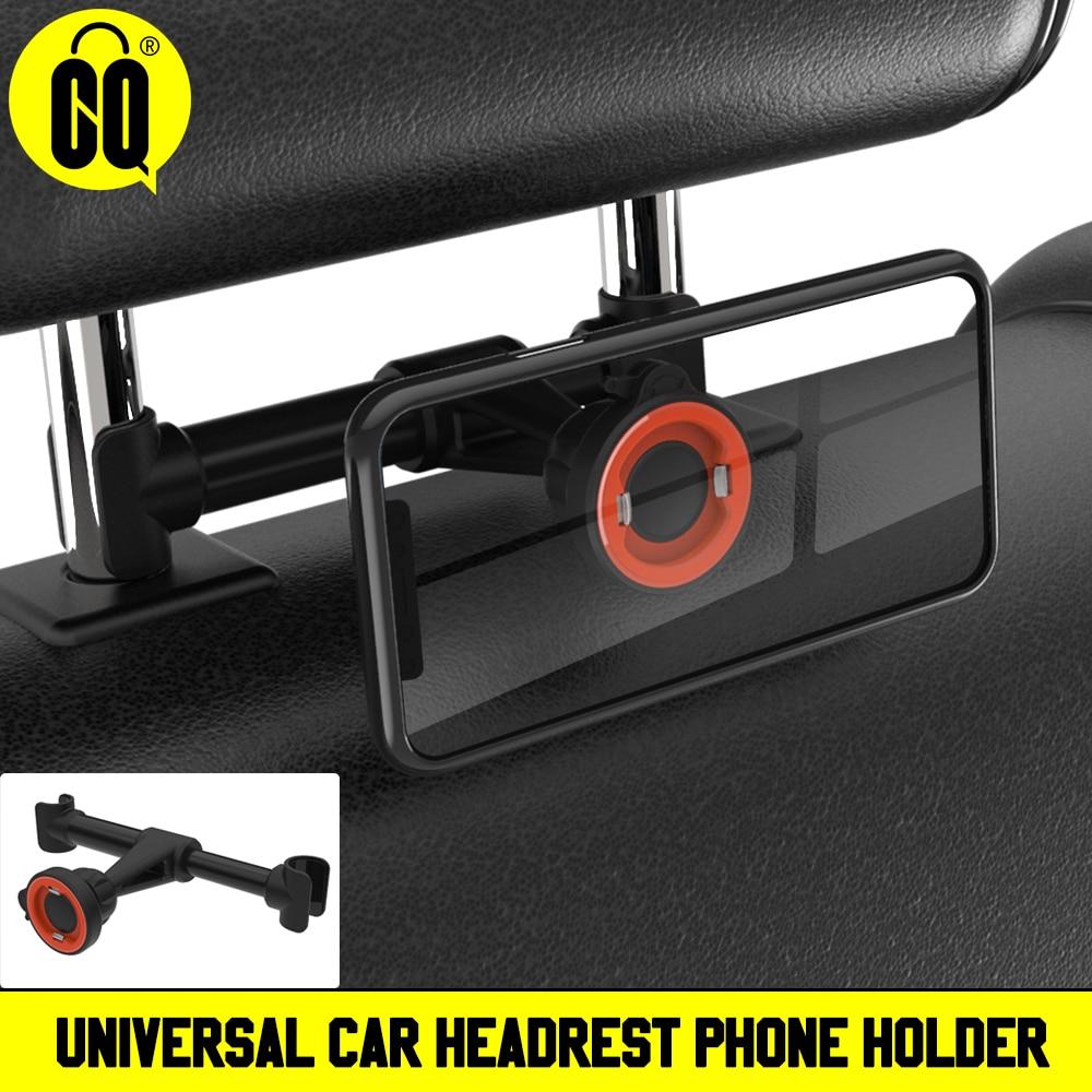 Car Headrest Mount/Tablet Holder Car Backseat Seat Mount/Tablet Headrest Holder Universal 360° Rotating Adjustable