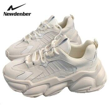 Women Chunky Sneakers Vulcanize Shoes Korean Fashion New Female Black Pink Platform Thick Sole Running Casual Shoe Woman women chunky sneakers vulcanize shoes korean fashion new female black pink platform thick sole running casual shoe woman