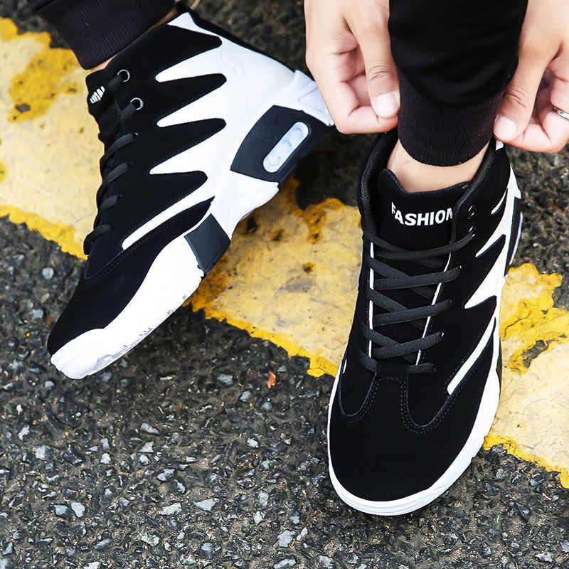 Mlcriyg 2020 zimowe męskie trendy mody sportowe buty zwiększone 5cm obuwie buty trzymające ciepło oddychające buty do biegania dla mężczyzn