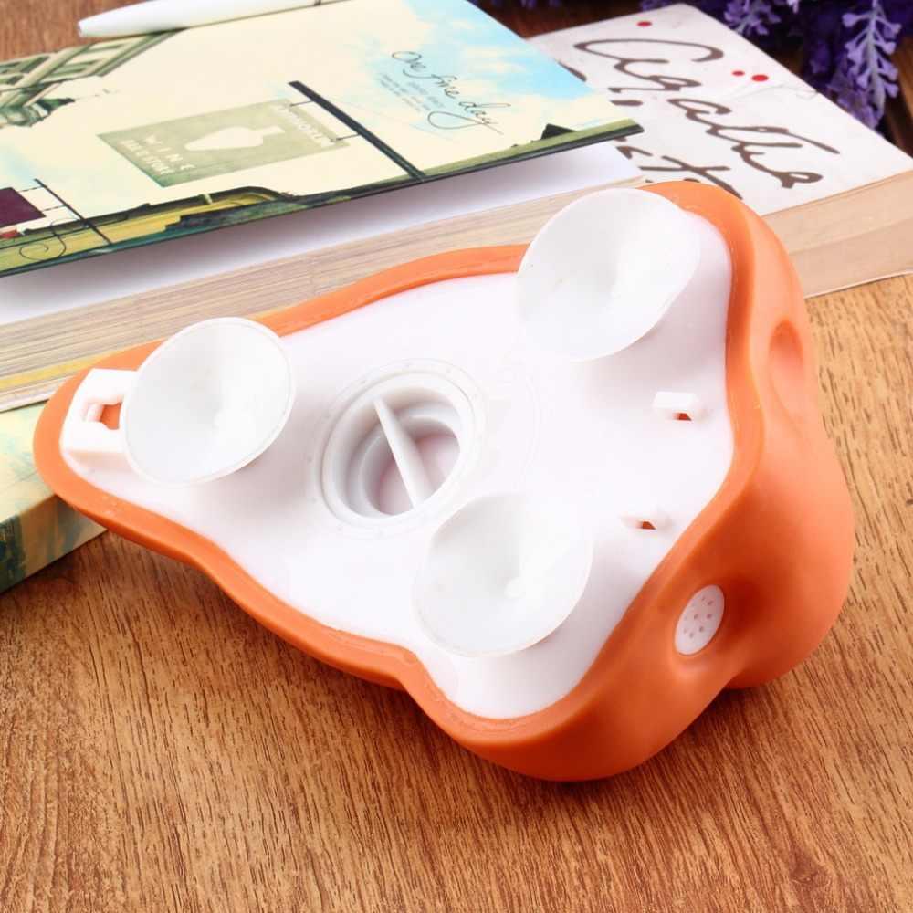 1 sztuk zabawy nos łazienka prysznic dozownik do mydła haki z przyssawką i dozownik środka dezynfekującego do łazienki z haki z przyssawką nowość