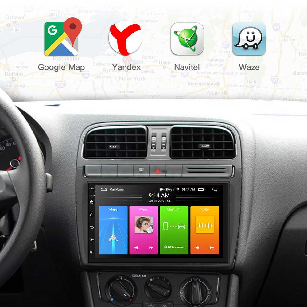 Android 8.1 2 Din Xe Ô Tô Đài Phát Thanh Đa Phương Tiện Video Đa Năng Tự Động Stereo Bản Đồ GPS Xe Volkswagen Nissan Hyundai Kia TOYOTA CR-V