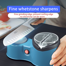 Knife-Sharpener Electric Scissor Automatic-Knife Fast USB Abrasive Rechargeable