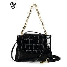 ESHUNF сумки на плечо для женщин Роскошные женские Сумки из искусственной кожи черные женские сумки через плечо женские сумки с принтом ящерицы дамские сумки дизайн