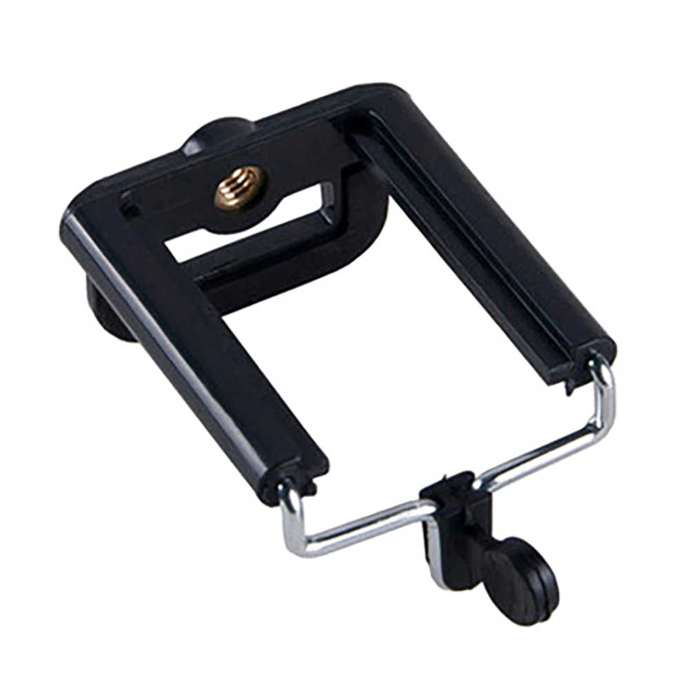 Universal Mobile Phone Clip U-Shaped Holder Mount Bracket Adapter for Smartphone Camera Tripod Stand Mount Adapter