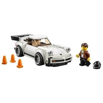 цена 2020 New Lepinedly 75895 Porsche911 Turbo 3.0 75890 Ferrari F40 Building Blocks Children's Toy Christmas Gift онлайн в 2017 году