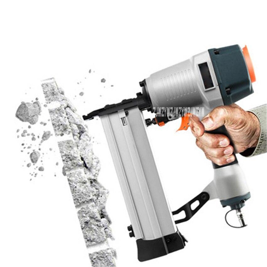 DC-DA-006 T64/ ST64 Pneumatic Nail Gun Wire Slot Nailing Device Woodworking Nail Gun Professional Concrete Nail Gun 0.5-0.8Mpa