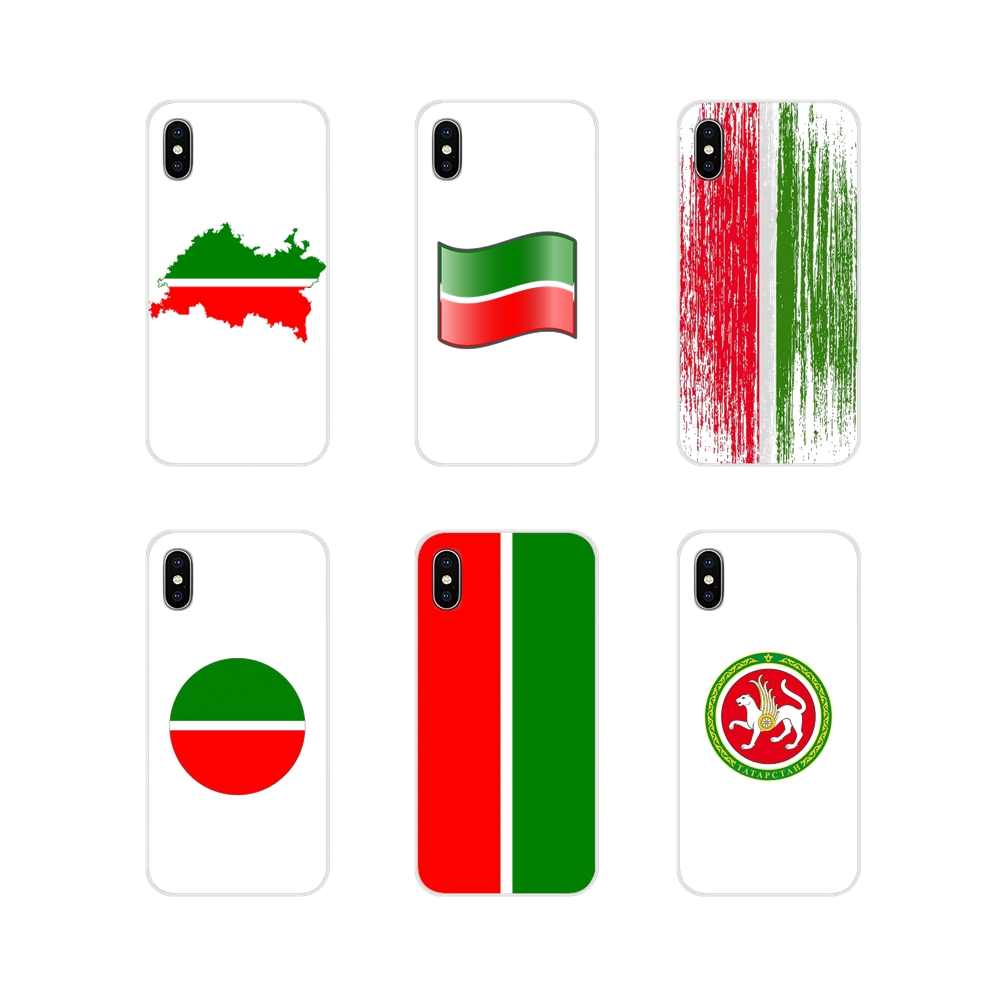 Tatarstan National Flag Accessories Phone Shell Covers For Apple iPhone X XR XS 11Pro MAX 4S 5S 5C SE 6S 7 8 Plus ipod touch 5 6