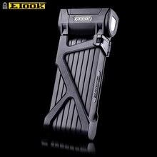 Etook Bicycle Lock Folding Mountain Bike Lock Strongest Anti Theft Heavy Duty Motorcycle Lock For Electric Bike ET590