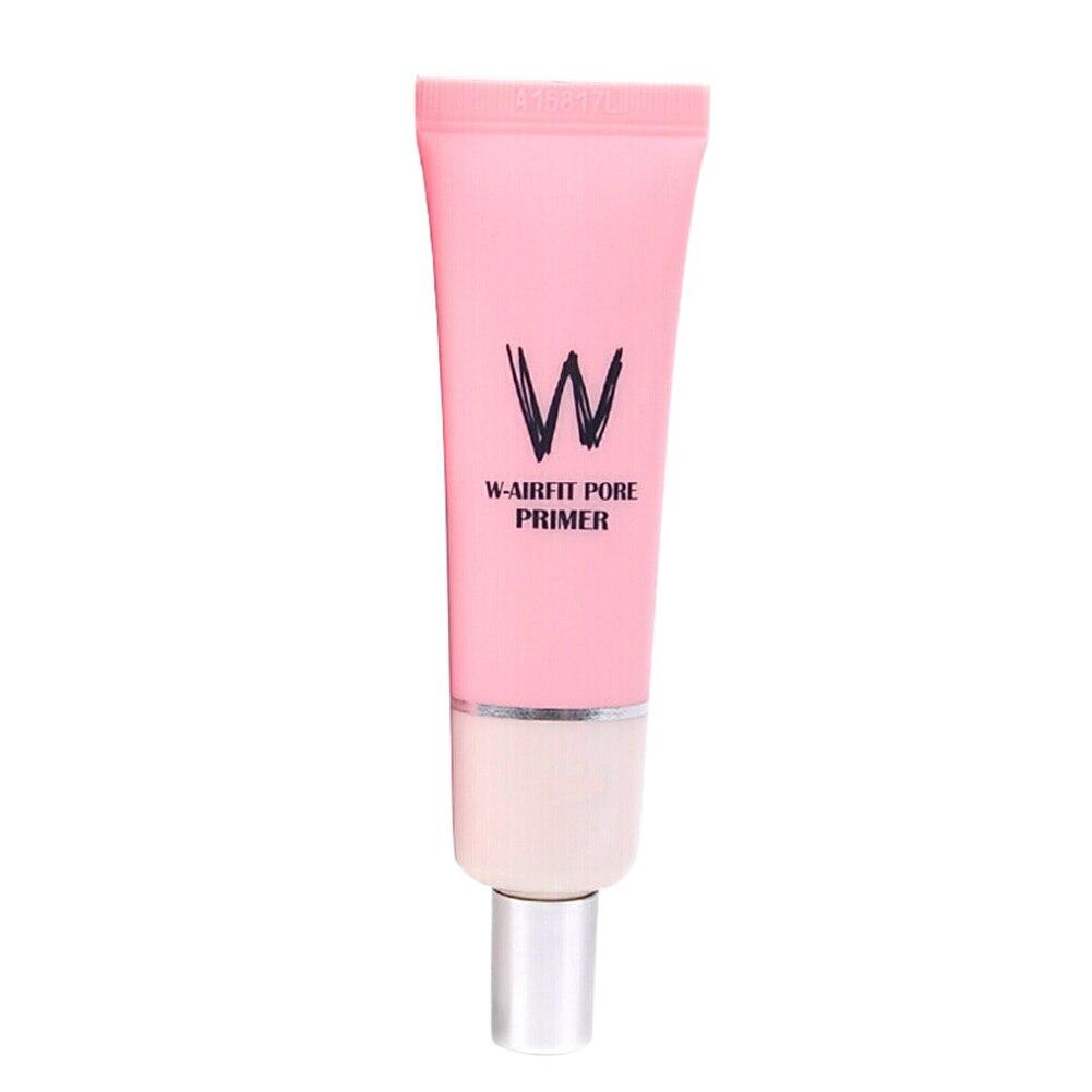 Los poros invisibles aislados iluminan la cara hidratante suave Base para rostro regalo Control de aceite maquillaje Base absorción para Wlab