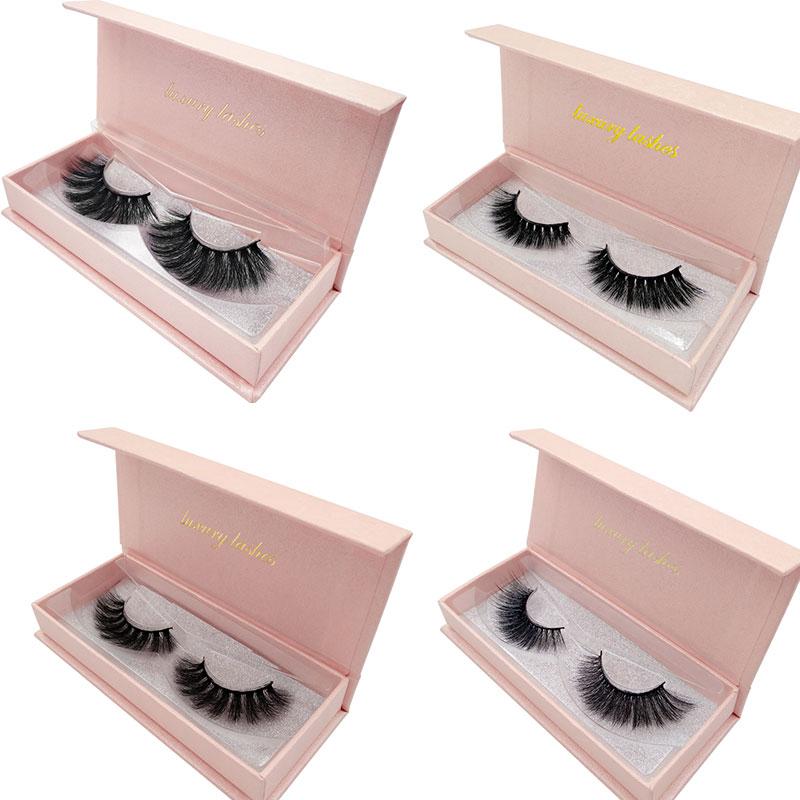 New Gorgeous 3D Mink Lashes Dramatic Eyelashes Volume Eyelash Extensions Mink Eyelashes Natrual Long False Eyelashes Beauty Kits