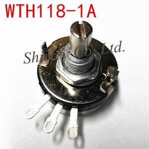100% новый WTH118-1A 2 Вт 1K 2K2 4K7 10K 22K 47K 100K 220K 470K 1 м ом вращающийся конический потенциометр переключатель 10 шт.