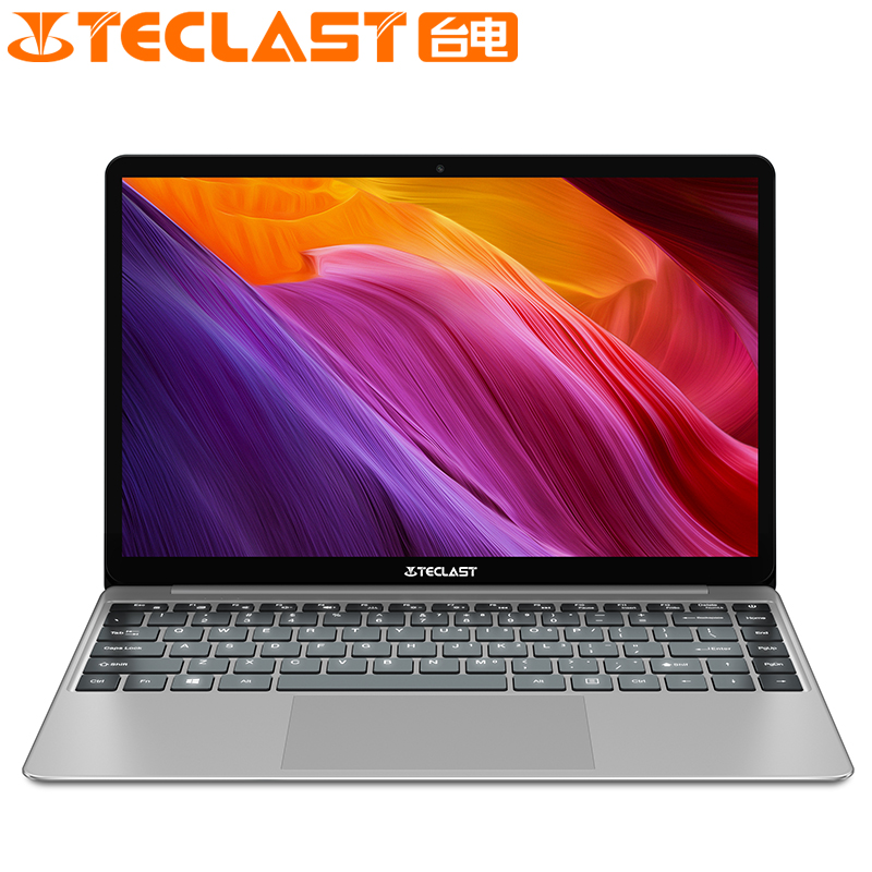 Teclast F7 Plus Notebook 14.0 ''Windows 10 Thuis Versie Intel Gemini Lake N4100 Quad Core 1.1 GHz 8 GB RAM 256 GB SSD Laptop