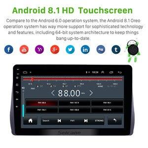 Image 2 - Seicane Radio Multimedia con GPS para coche, Radio con reproductor, Android 10,1, 2 DIN, estéreo para coche, wifi, Bluetooth, para Toyota Wish, 8,1, 2009, 2010, 2011, 2012
