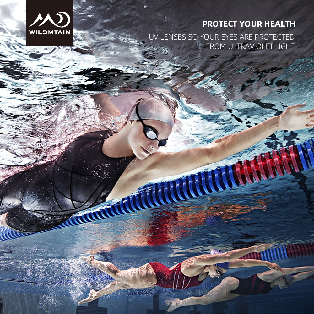 WILDMTAIN Swimming Goggles Professional For Women And Men, Anti Fog UV Protection Waterproof Competitive Swim Racing Goggles SG1