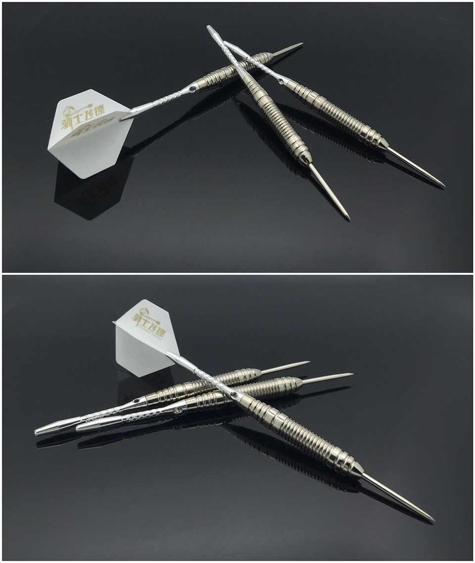 Высокое качество 3 шт./лот профессиональные 22 грамма дротики со стальными наконечниками жесткие латунные дротики с бесплатным чехлом для переноски Дартс для игр