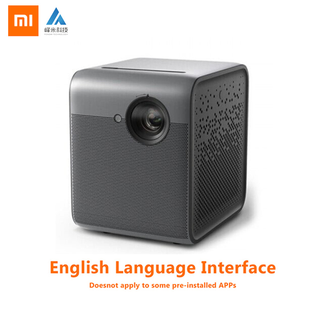 Xiaomi Fengmi Smart Lite DLP 3D Projector TV Full HD 1080P 550ANSI Lumens M055DCN Projection Support 4K Home Theater