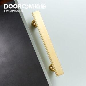 Image 4 - Dooroom tiradores de latón para muebles, tiradores de lujo de color negro y dorado, para armario, armario, barra de vino, cajón, pomos