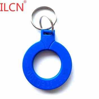 125khz ID Read Only Badge Keyfob RFID Tag llavero Proximity EM4100 Keychain Sticker Key Fob Token Ring Chip Multiple Choices 1 - discount item  14% OFF Access Control